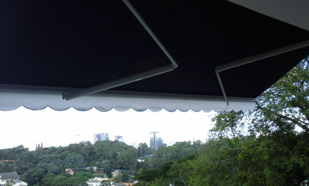 toldo articulado para varanda
