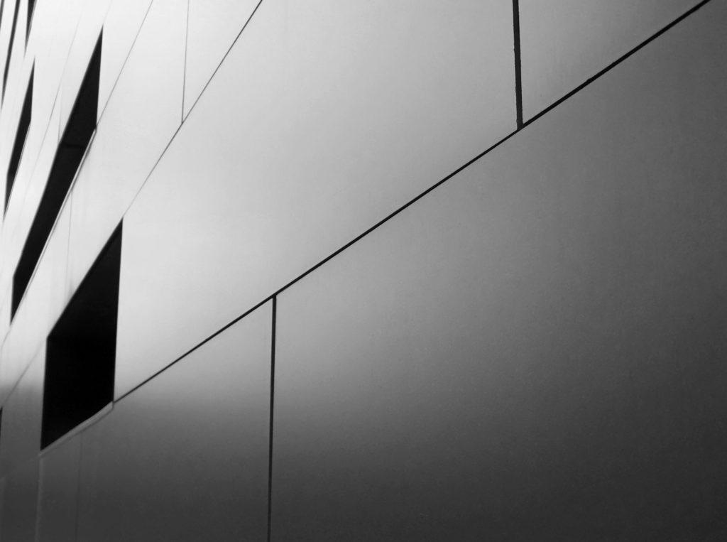 fachada em aluminio ACM